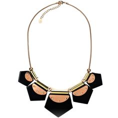 Accessorize Chunky Geo Perspex Necklace ($9.50) ❤ liked on Polyvore featuring jewelry, necklaces, accessorize, black, lucite necklace, chunky jewelry, geometric necklace, geometric statement necklace and polish jewelry