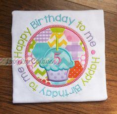 Birthday Circle Applique Design Just Peachy Applique