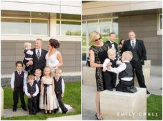 Hotel Kirkwood fall wedding, bride and groom photos, flower girl, ring bearers, kids in weddings
