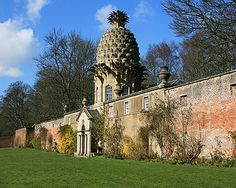 """Dunmore Pineapple"" building in Scotland Places Around The World, Around The Worlds, Crazy Houses, Hothouse, Famous Buildings, Unique Architecture, Southern Hospitality, Beautiful Buildings, Scotland"