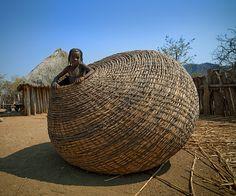 Girl of the Mundimba Tribe, Angola, Eric Lafforgue