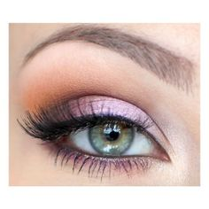 purple makeup for green eyes