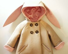 Is this not the cutest little coat? I'd love it for my grand daughter! From Littlegoodall on Etsy