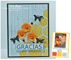Color Combo Inspiración y Reto! Latina, Vintage Banner, Color Combos, I Card, Frame, Decor, Art, Stamps, Colors
