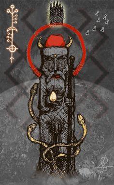 Veles, God of autumn, western lands, underworld,... - Obscure Nocturne