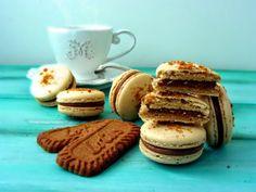 N.M. Galletas Artesanas: Macarons de galletas Spéculoos