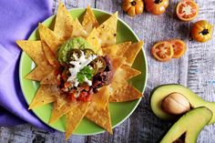 Who doesn't love nachos? They are the perfect movie night snack. Try my healthier version of a classic nacho recipe that still has all the works and tastes delicious!  Serves 1 Ingredients:Refried Beans2 tsp olive oil¼ brown onion, finely chopped½ garlic clove, crushed½ tsp ground cumin¼ tsp chilli powder200g canned kidney beans, drained, rinsed Salsa1 medium tomato, diced¼ small red onion, finely dicedLemon juice, to taste2 tsp olive oil½ tbsp parsley, chopped Guacamole½ avocadoLemon…