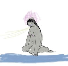 Digital illustration. Editorial Illustration. Illustrator India Toctli.