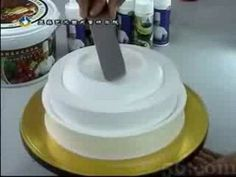 Really different cake decorating technique #cake, #cake decorating, #tutorial, #video, #icing, #frosting, #pottery, #technique