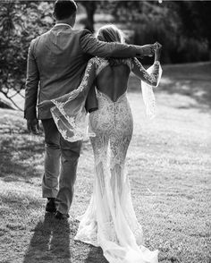 Lost In Love Photography / Destination Photographer / Black and White / French Lace Bridal Gown / Wedding Style Inspiration / The LANE
