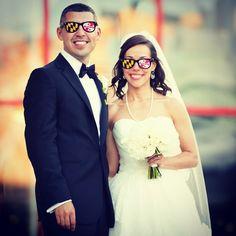 A recent Maryland-tastic wedding at the Aquarium!