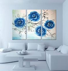 We are driven to produce unique and exclusive canvas wall art at affordable prices. Simple Oil Painting, Oil Painting Gallery, Modern Oil Painting, Oil Painting Abstract, Oil Paintings, Painting Tips, 3 Piece Canvas Art, Canvas Wall Art, Framed Canvas