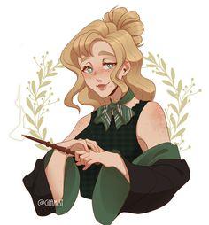 Princess Zelda, Disney Princess, Slytherin, Disney Characters, Fictional Characters, Art, Art Background, Kunst, Slytherin House