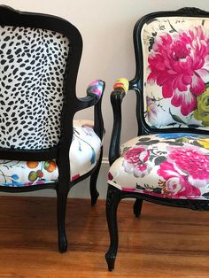 Subscribe to my blog at www.chairwhimsy.com To see my before and afters, be sure to Like me on Facebook chairwhimsy, follow me on Instagram chairwhimsy and on Twitter @chairwhimsy These gorgeous French chairs have sold, but if you are interested in something similar, contact me for a