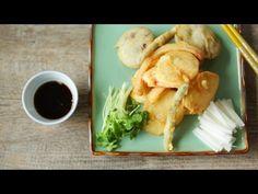 Japanische Tempura mit Gemüse und Pilzen - das Video zeigt, wie man Tempura ganz einfach selber macht und dazu noch einen leckeren Dip. Das Rezept zum Video gibts auf Allrecipes Deutschland http://de.allrecipes.com/rezept/16232/gem-se-tempura.aspx