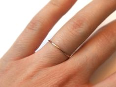 Feiner zarter Ring aus 585 Rose Gold Goldfilled Messing