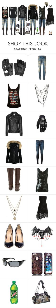 """Unnamed (SOA OC!)"" by ashley-huggins-1 ❤ liked on Polyvore featuring Charlotte Russe, Diesel, Full Tilt, AG Adriano Goldschmied, Soda, P.A.R.O.S.H., LowLuv, Nina Ricci, Giuseppe Zanotti and Switchblade Stiletto"