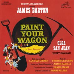 Show poster from paint your wagon
