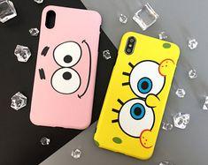 Iphone 8 plus spongebob case Iphone 8 Plus, Iphone 7, Art Phone Cases, Iphone Case Covers, Bff Cases, Diy Coque, Diy Phone Case Design, Matching Phone Cases, Friends Phone Case