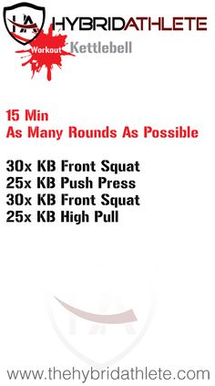 Grab your kettlebell and get moving!