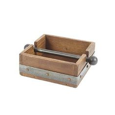 European Reclaimed Napkin Holder