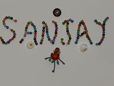 Creative DIY crafts: Colorful Name Decorations on Wall using Cardboard ...