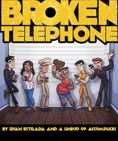 Check out Broken Telephone on @comiXology