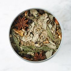 $24 BUY NOW The long, cold nights of winter are the perfect opportunity to take some extra me-time. This botanical blend of wintry herbs can be used as a facial steam or steeped in the bath, and includes a woodsy bouquet of juniper berries, orange peel, cedar leaf, and star anise.