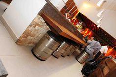 BARRIL DE CHOPP de inox na area de churrasco - Pesquisa Google
