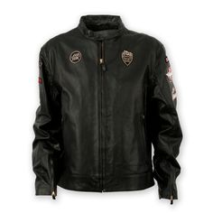 Historical 09 leather jacket | Ducati Official Shop