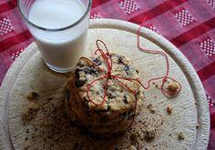 Karamell-Schoko-Cookies mit Haselnüssen