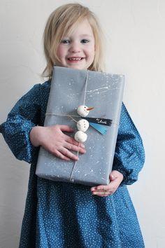 Mer Mag: Easy Snowman Gift Topper