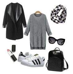 """""""For every winter day"""" by carol131192 on Polyvore featuring bellezza, adidas Originals, Princess Carousel, Sigma Beauty, Karen Walker e Columbia"""