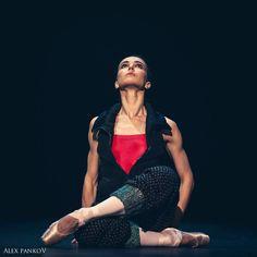 "Diana Vishneva Диана Вишнёва, ""Live"" choreography by Hans van Manen (rehearsal), Context. Diana Vishneva Festival, Театр им. Моссовета Mossovet State Academic Theatre (November 2015)"