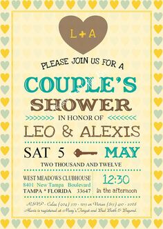 63765e65dcd2 Vintage Wedding Shower Couples Shower Jack by twinklelittleparty