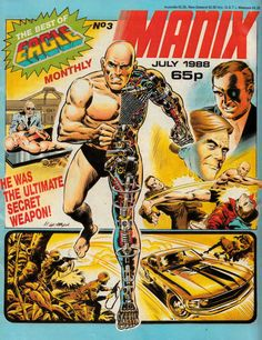 Best of Eagle Monthly - Manix (Issue) Comic Book Heroes, Marvel Dc, Comic Art, Sci Fi, Eagle, Comics, Robots, Illustration, Lord