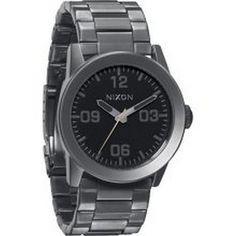 590b46d29218 Nixon Male Private Ss Watch A276-680 Gunmetal Analog Sale price.  144.95  Online Watch