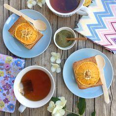 Receta: tarta de naranja