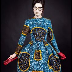 Stella Jean AW12 http://www.africafashionguide.com/2012/10/stella-jean-aw1213-waxing-philosophy/