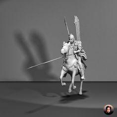 Husaria - Winged Hussars, 3D Model, 3D Sculpting