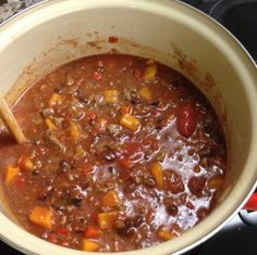 Beef Chili With Butternut Squash & Black Beans | Mrs. G's Appliance Chef
