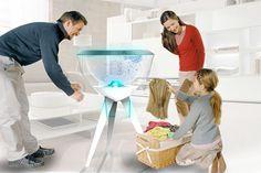Washing Machine of the Future Electrolux Design Lab