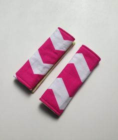 Reversible Carseat Strap Covers Girls' Strap Covers by SewSugarPie, $8.99
