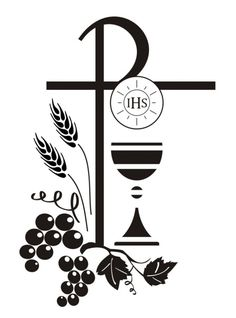 First Communion Banner Stencils First Communion Banner, Première Communion, First Holy Communion, Communion Banners, Religious Images, Religious Art, Faith Crafts, Church Pictures, Easter Religious