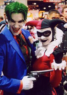 Harley Quinn and Joker, Couples Halloween Costume