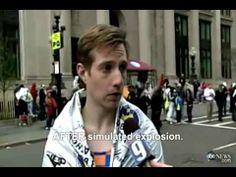 Photos and Eyewitnesses Confirm - BOTH Boston Marathon Bombs Were Fake