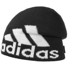 adidas Knit Logo Beanie adidas Strickmütze Wintermütze Skimütze…