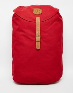 Fjallraven Greenland Backpack in Redwood