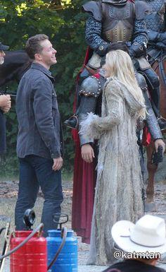 "Josh Dallas and Jennifer Morrison - 5 * 1 "" Dark Swan"" 14 July 2015"