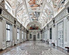 Фото: Интерьеры итальянских дворцов, от которых глаз невозможно оторвать (Фото)
